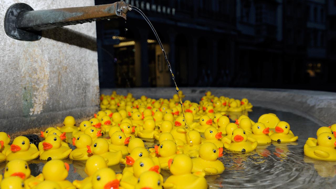 Kreis Wasser Guerilla Aktion Stadt St.Gallen