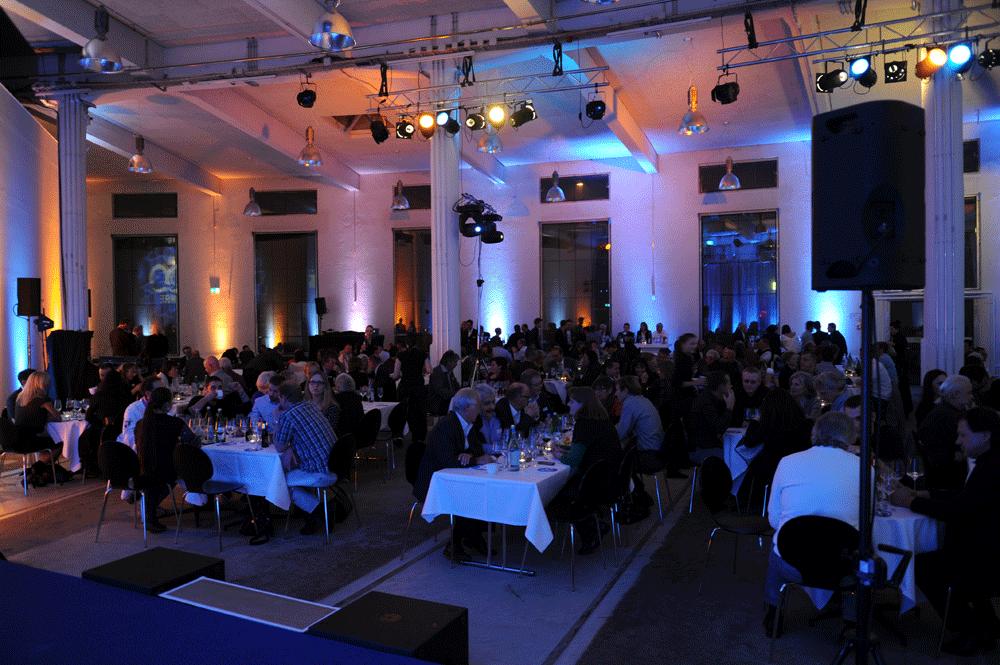 Kreis Wasser 100 Jahr Jubilaeum Abend Essen Gala