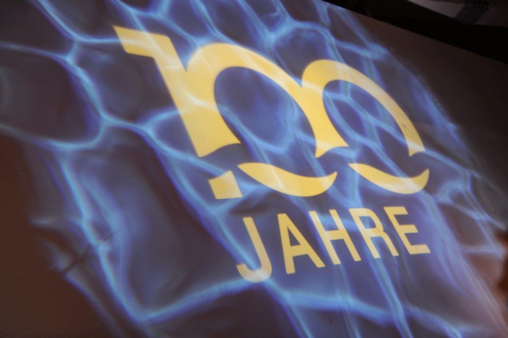Kreis Wasser 100 Jahr Jubilaeum Event Identity