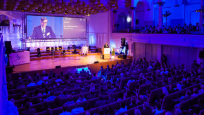 Awardverleihung WTT Young Leader Ansprache Prof. Wörwag