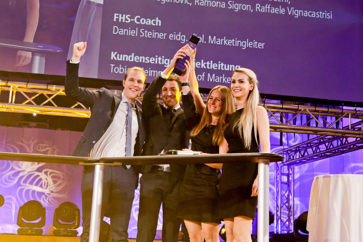 WTT Young Leader Award Siegerteam
