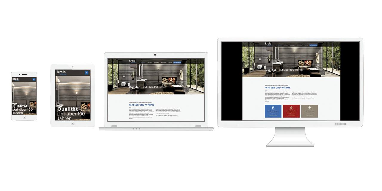 Mosaik Agentur für Kommunikation – neue Website kreis wasser