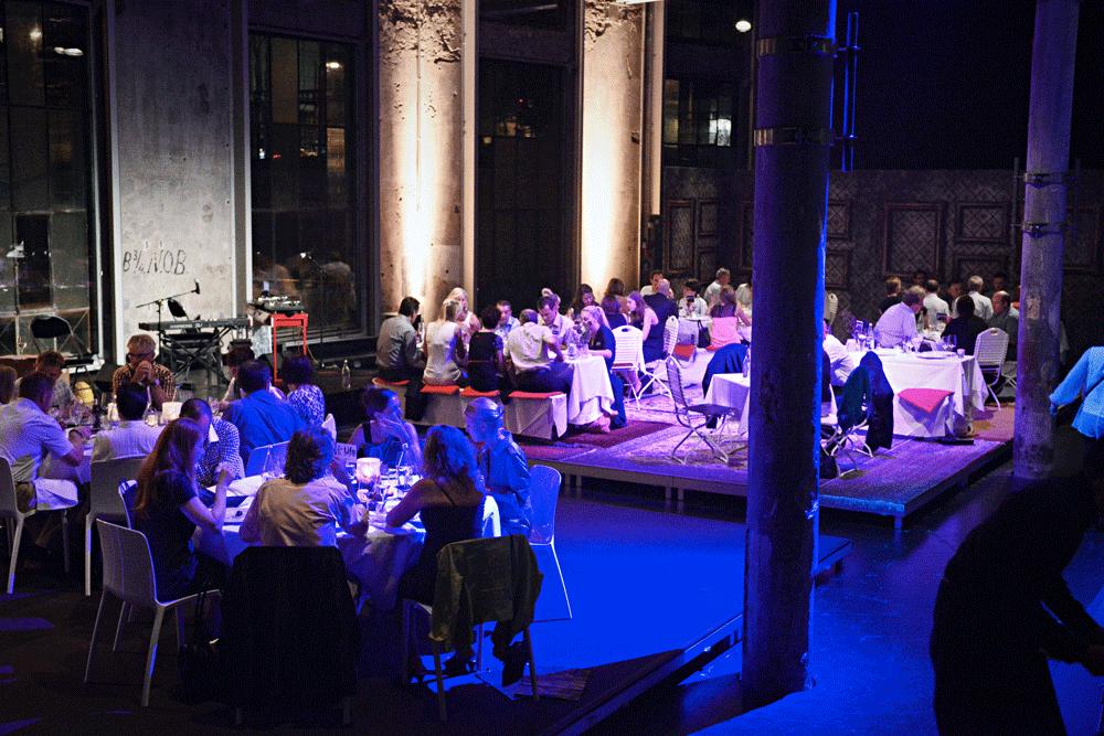 Mosaik Agentur Jubiläumsfest 20 Jahre Direct Mail House Abendstimmung