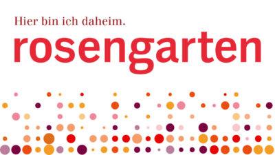 Entwicklung Corporate Design Pflege und Betreuungszentrum Rosengarten