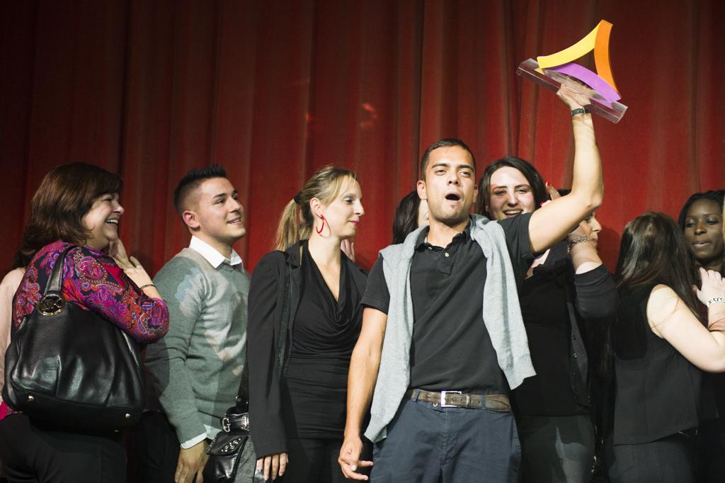 Mosaik Agentur Award-Verleihung Sunrise Mitarbeiteranlass Gewinner