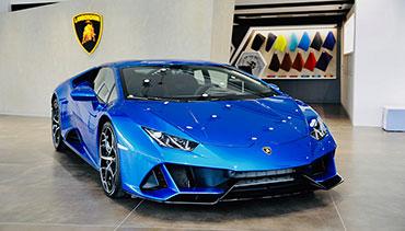Mosaik Agentur Eroffnung Lamborghini Huracan Evo 2